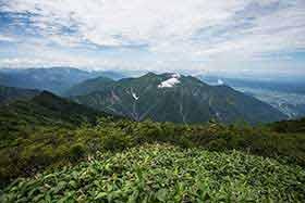 八海山が近い
