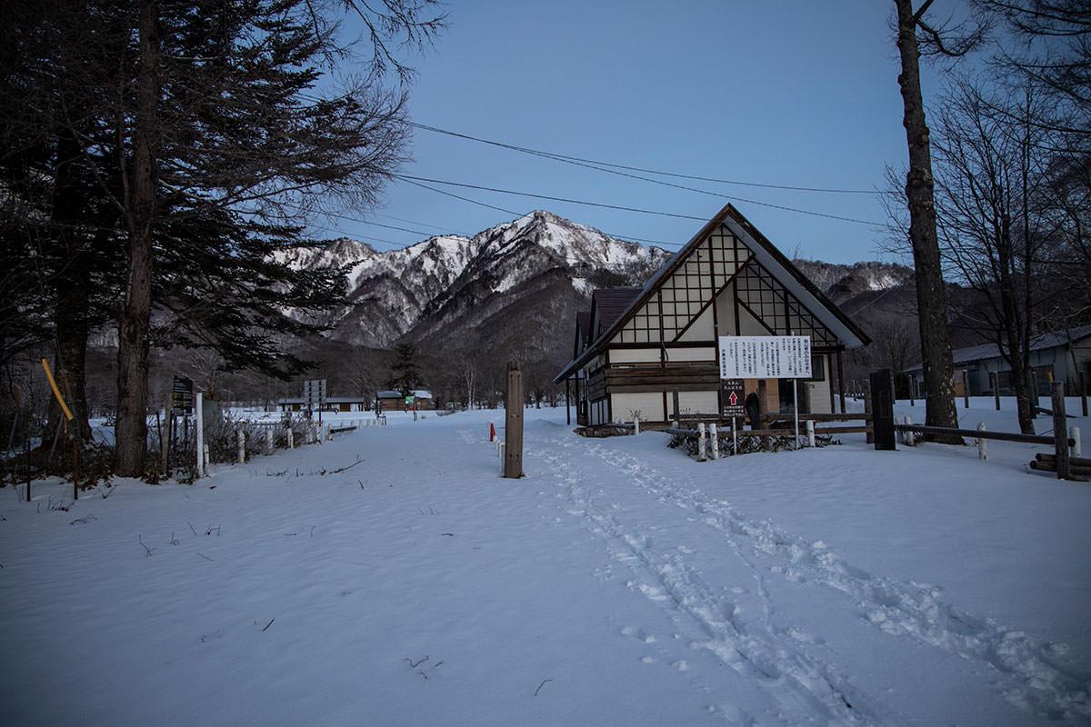 牧場の入口