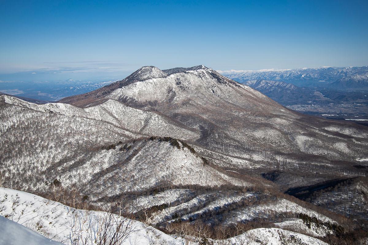 高妻山-ほんの少しだけ黒姫山が近づいた