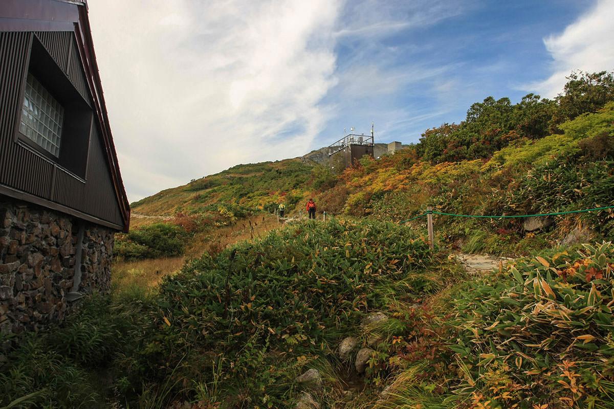 ふたつの登山道