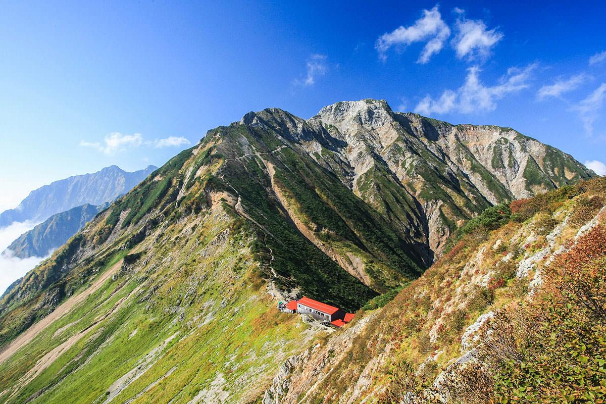 五竜岳の見晴しが良い