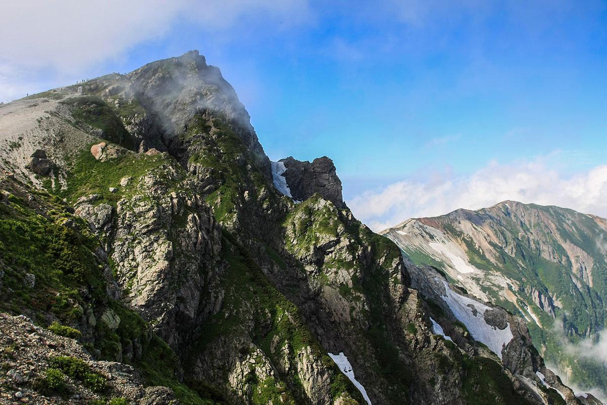 白馬岳近景