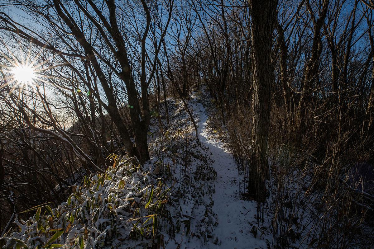 【鼻曲山】登山百景-小さなピークがいっぱい
