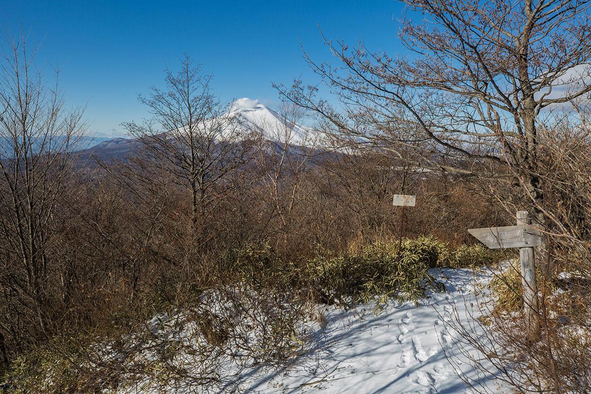 【鼻曲山】登山百景-浅間山への眺め