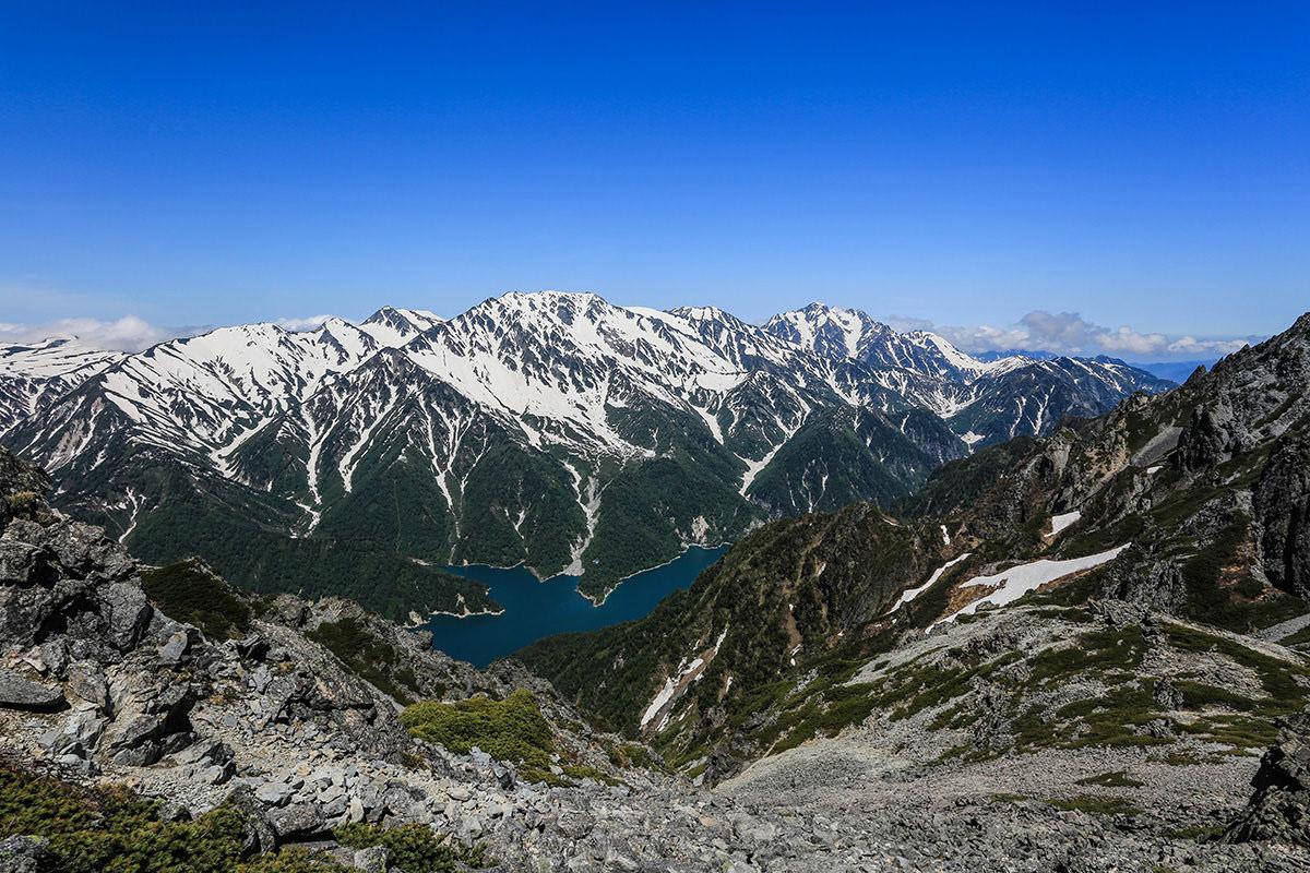 【針ノ木岳】登山百景-景色はとても良い
