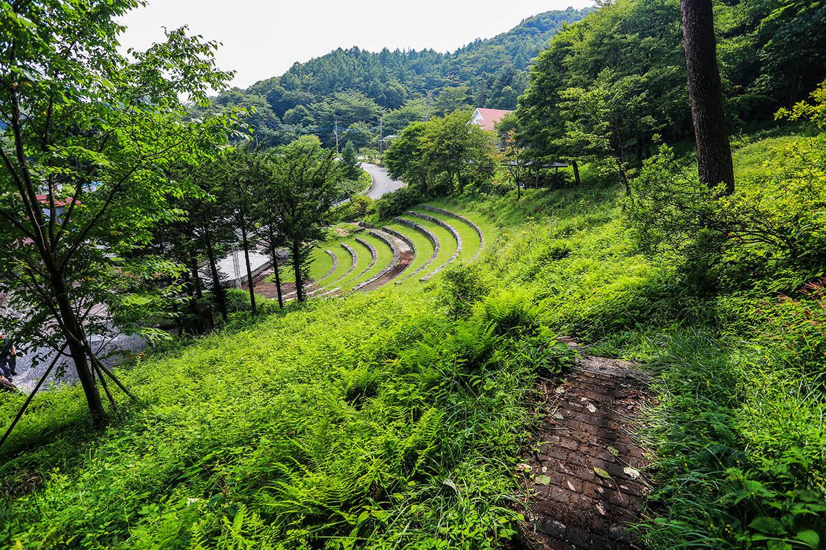【榛名山】登山百景-湖畔の宿記念公園に到着