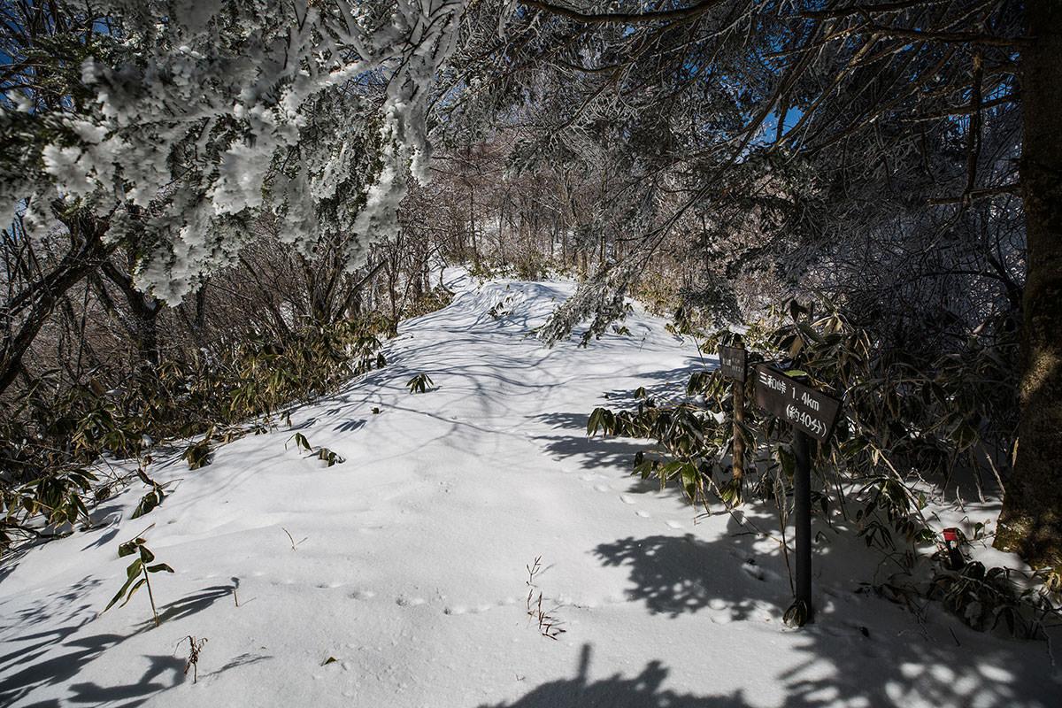【聖山】登山百景-聖峠に着いた