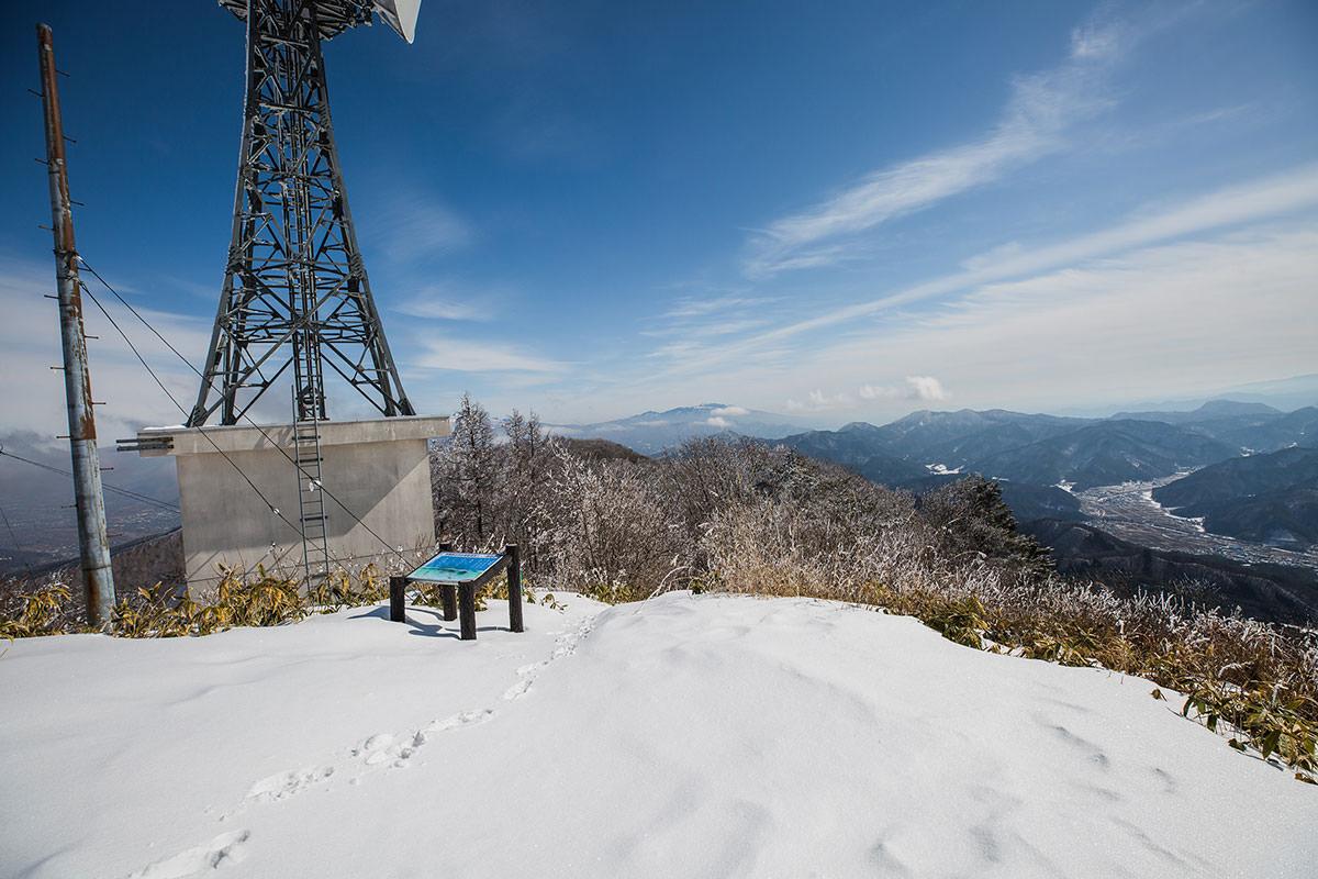 【聖山】登山百景-浅間山方面