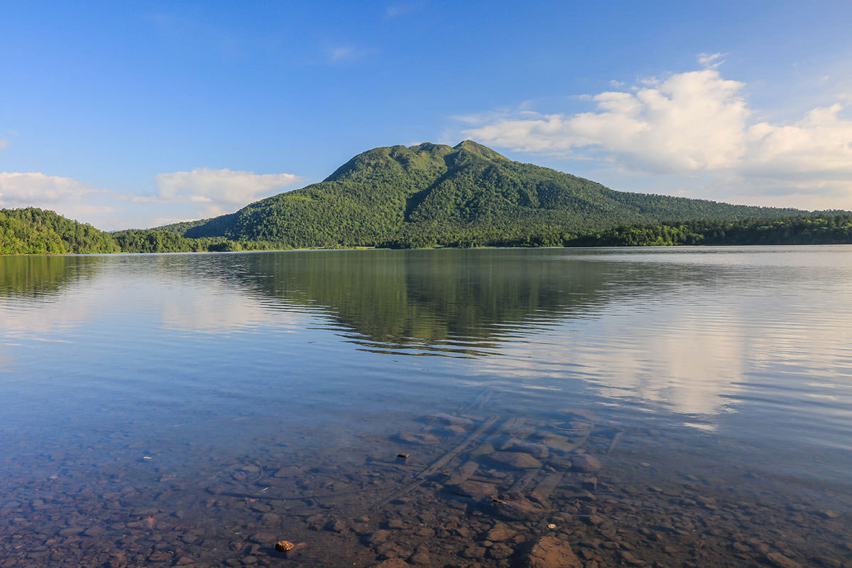 尾瀬沼から燧ヶ岳