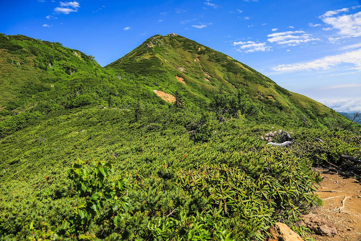 【燧ヶ岳】登山百景-俎嵓が見える