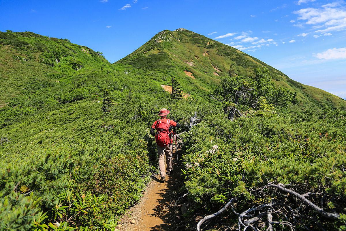 【燧ヶ岳】登山百景-俎嵓へ歩く