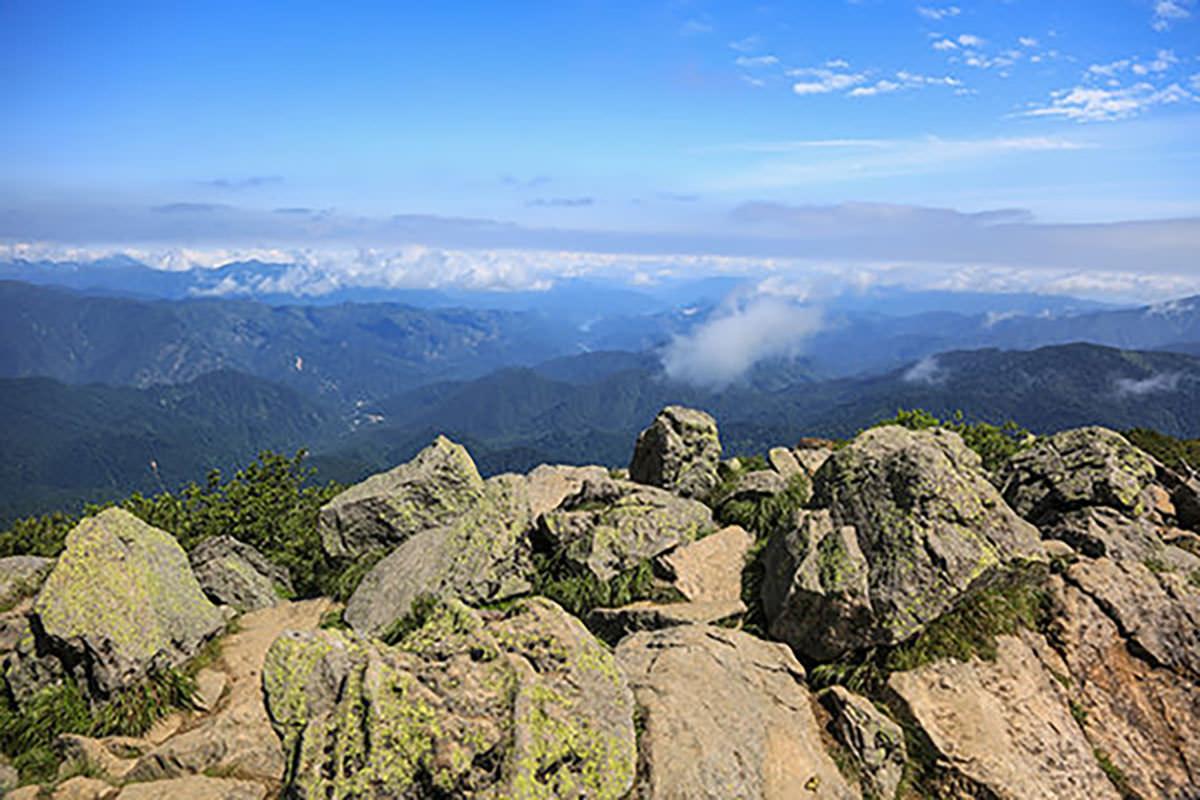 【燧ヶ岳】登山百景-俎嵓に到着