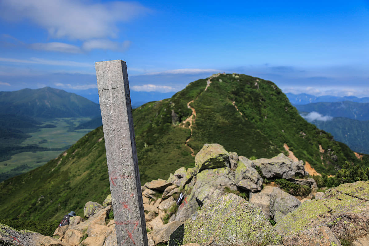 【燧ヶ岳】登山百景-山頂の柴安嵓