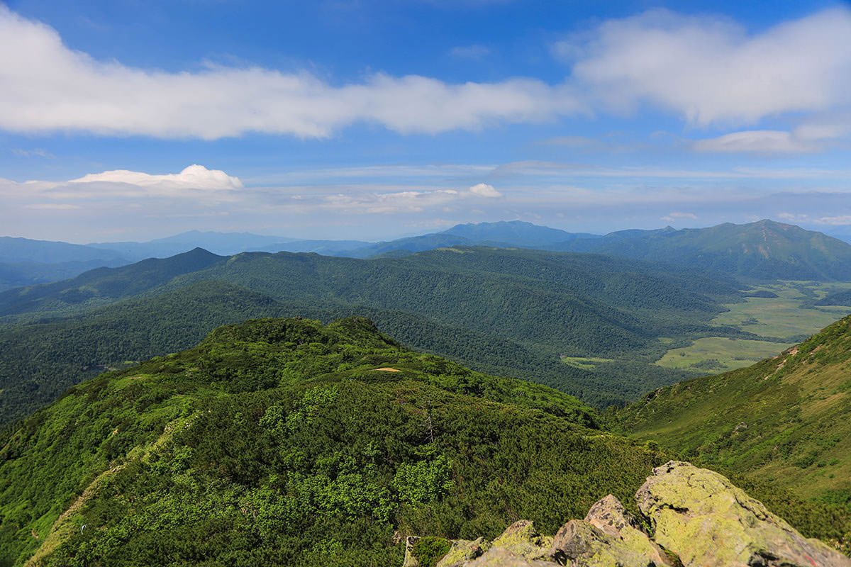 【燧ヶ岳】登山百景-尾瀬ヶ原の方