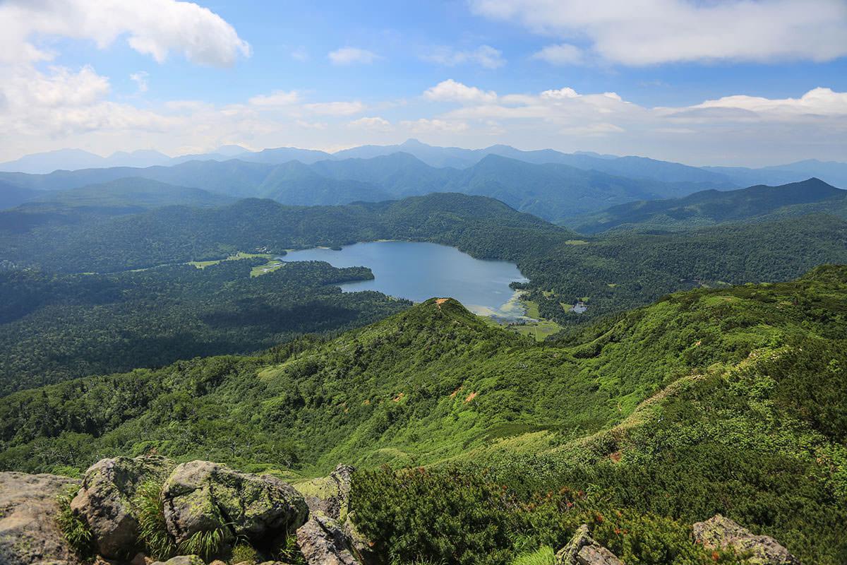 【燧ヶ岳】登山百景-尾瀬沼の方