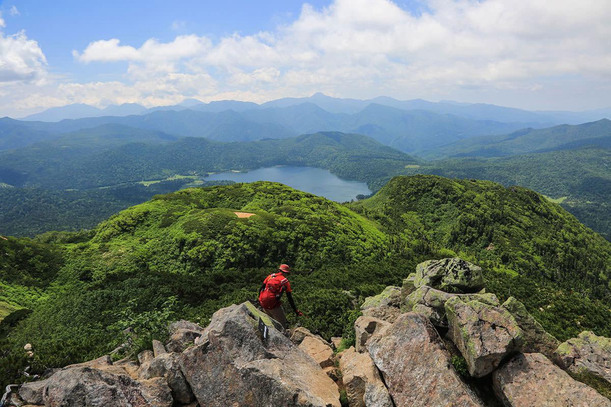 【燧ヶ岳】登山百景-俎嵓へ戻る