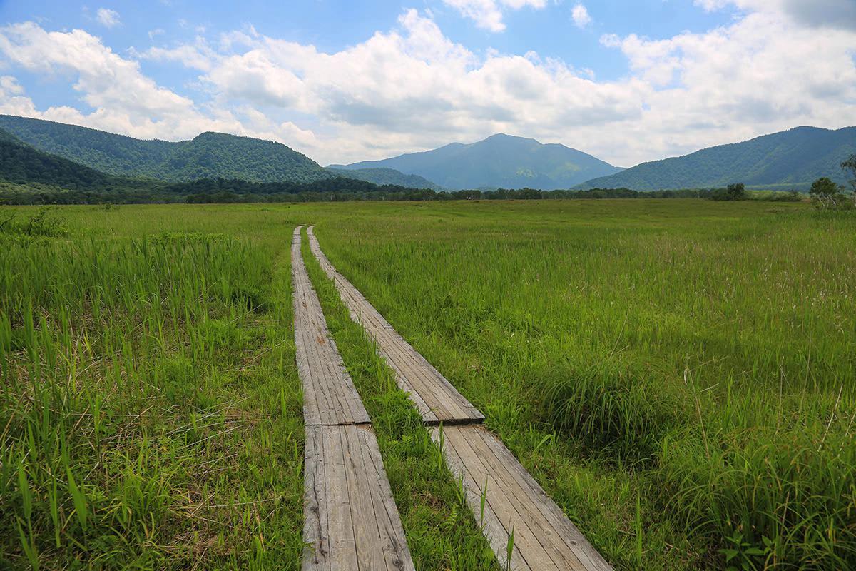 【燧ヶ岳】登山百景-尾瀬ヶ原を抜ける
