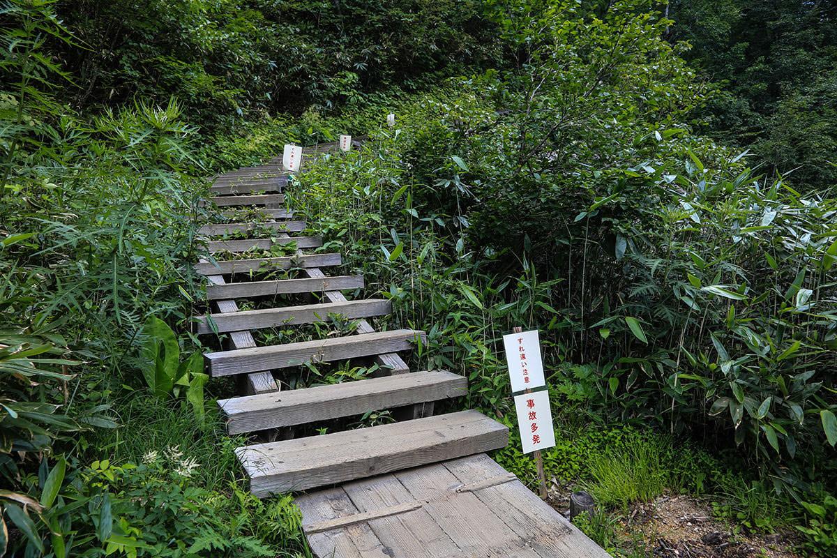 【燧ヶ岳】登山百景-最後に登りが続く
