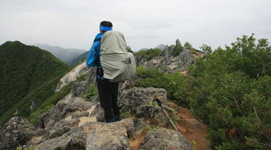 鳳凰三山 ドンドコ沢