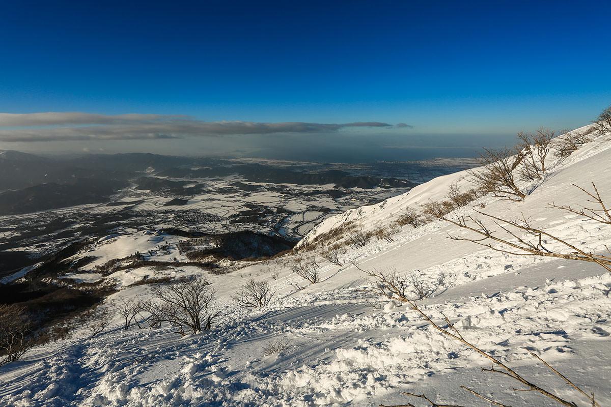 【伊吹山】登山百景-南西側