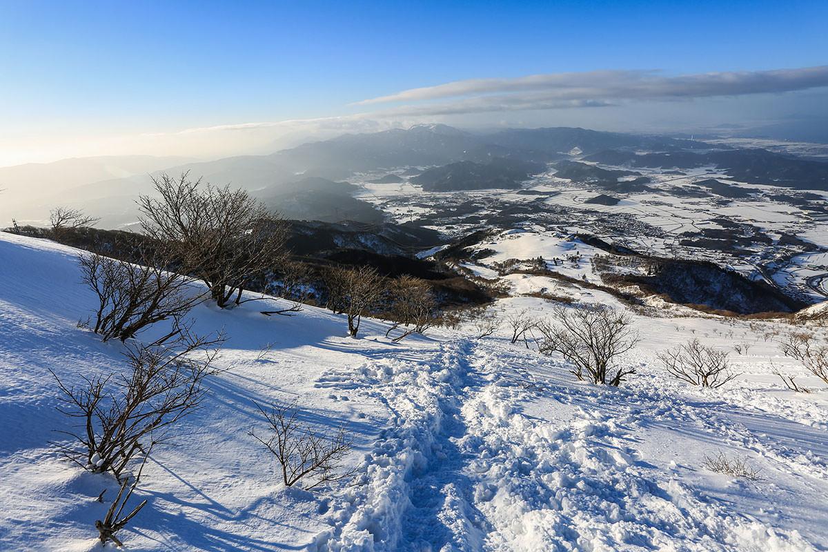【伊吹山】登山百景-遠くまで見える