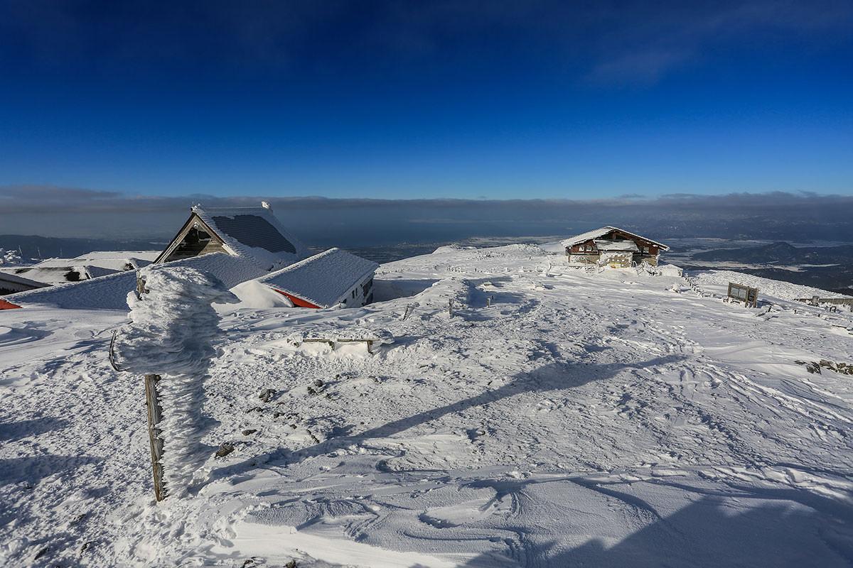 【伊吹山】登山百景-北側の景色