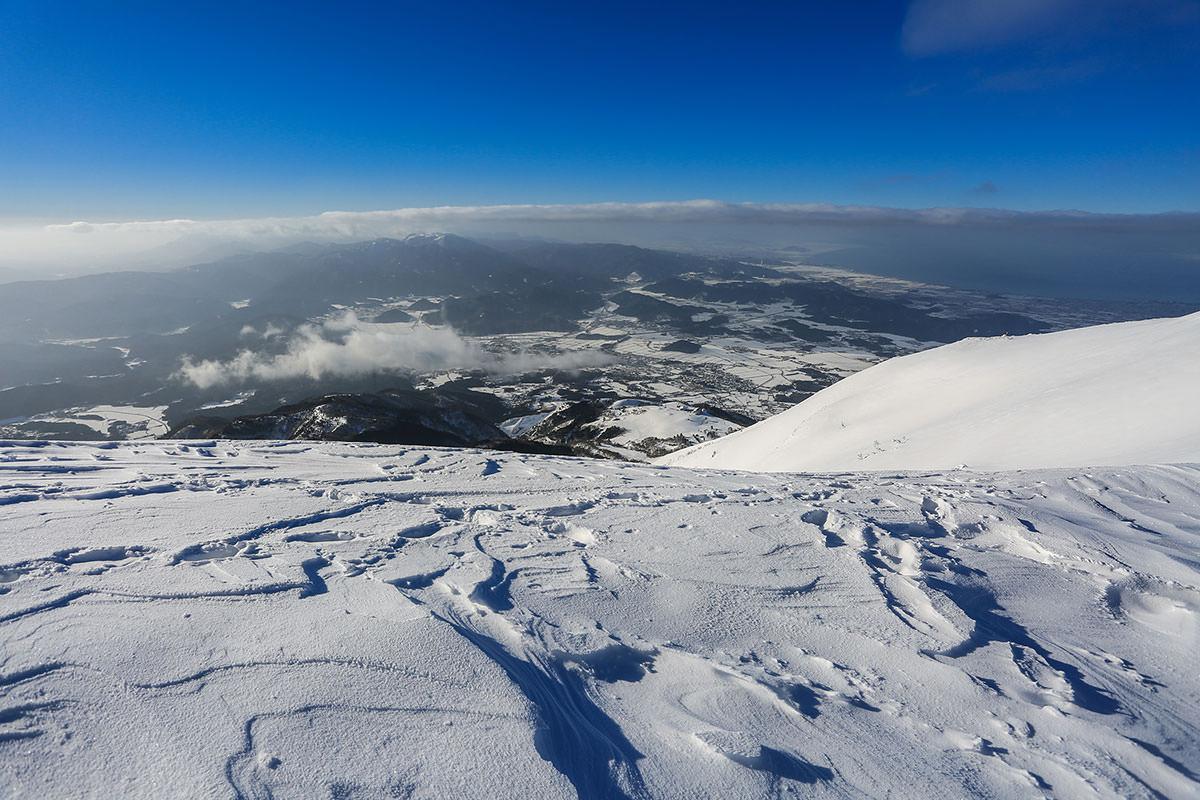 【伊吹山】登山百景-米原を見下ろす