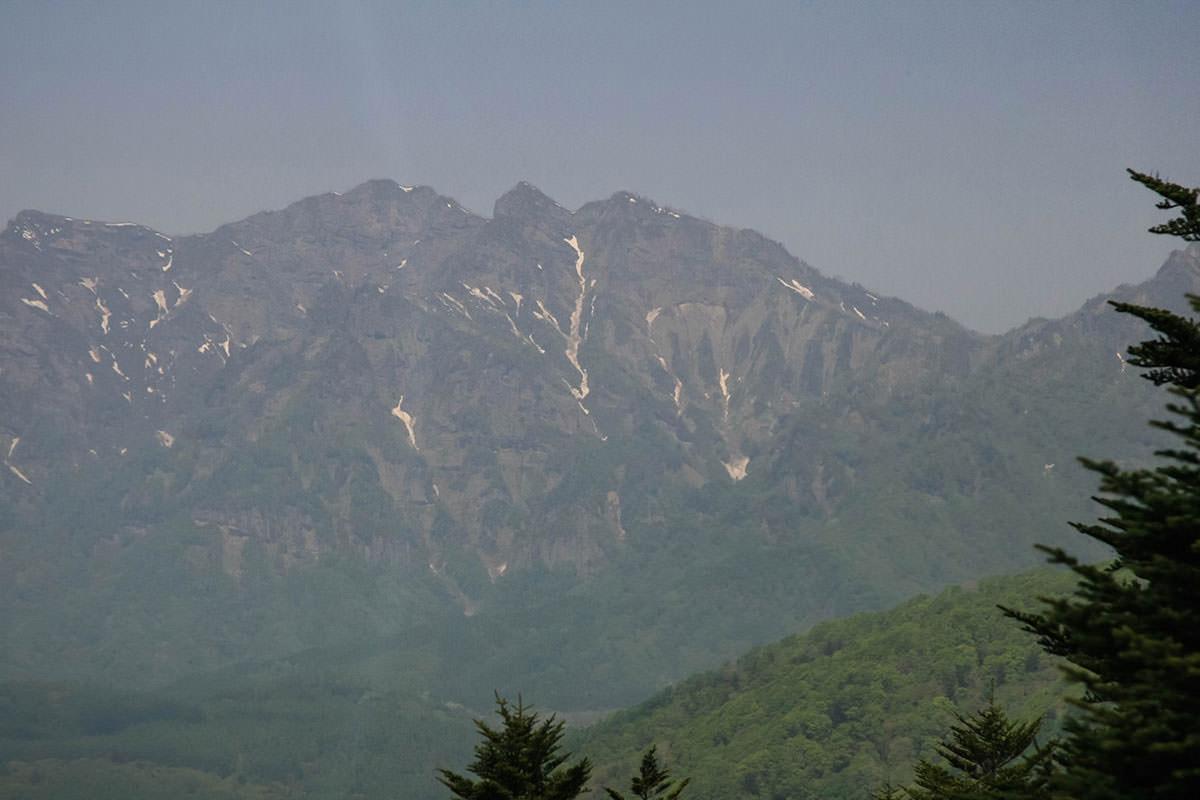 【飯縄山】登山百景-西岳方面