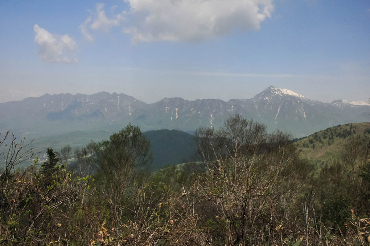 【飯縄山】登山百景-戸隠連峰