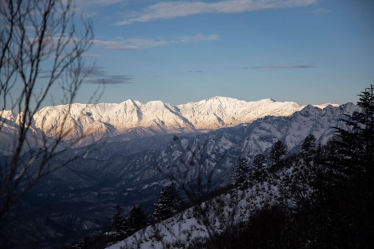 飯縄山-白馬三山