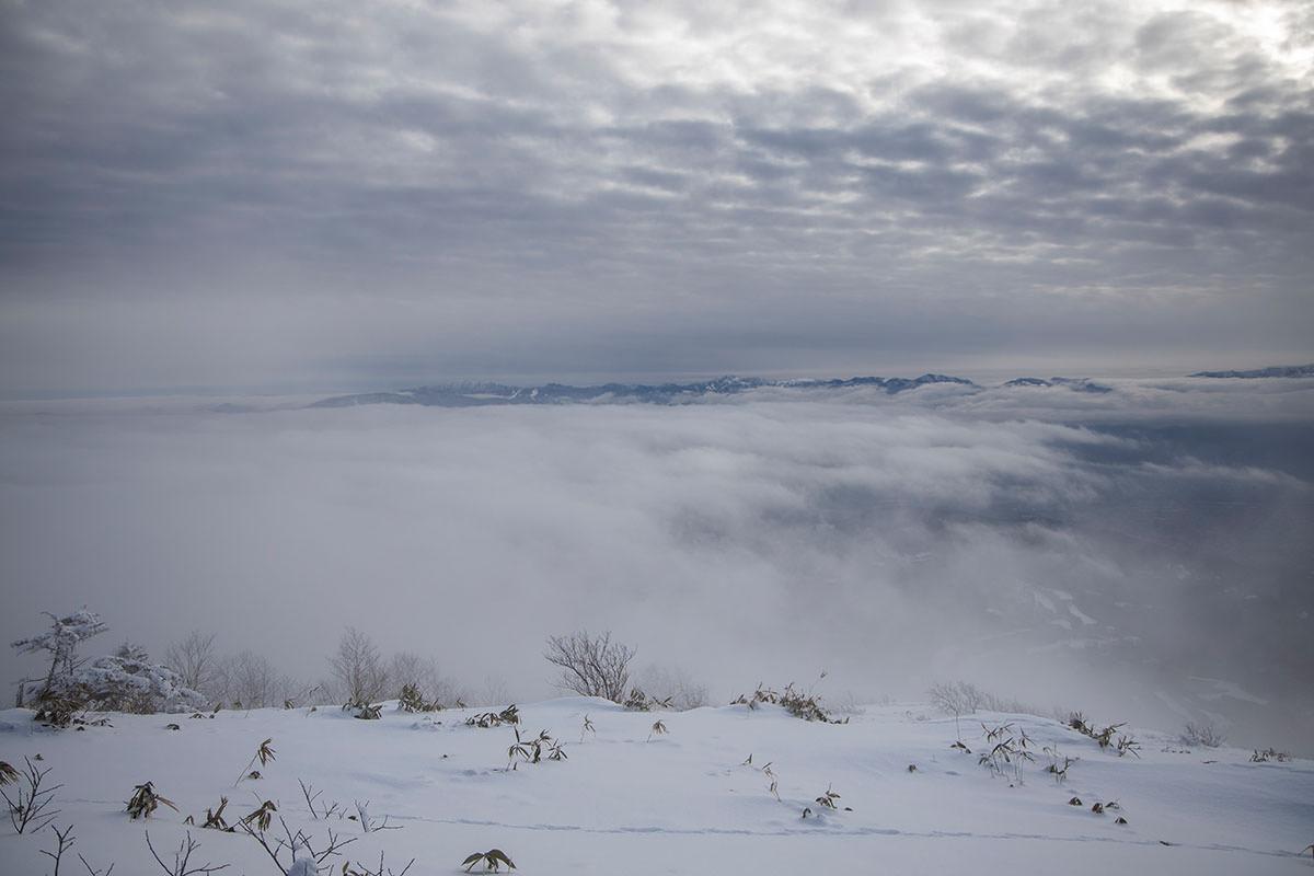 北の方は雲がすごい