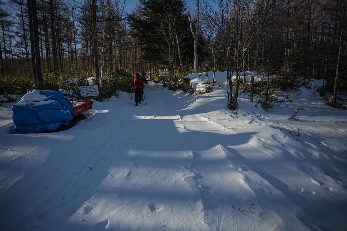 【硫黄岳 本沢温泉】登山百景-無雪期は車で通れる