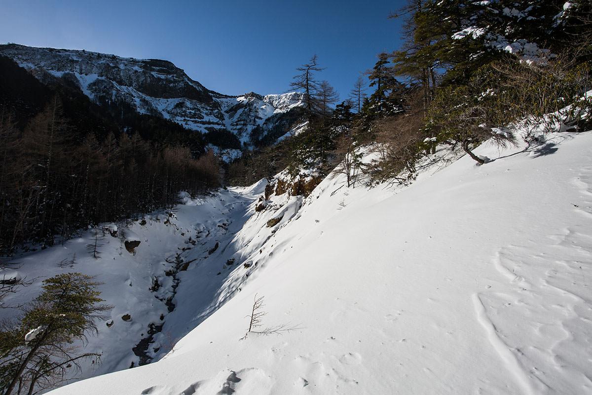 【硫黄岳 本沢温泉】登山百景-硫黄岳が高い