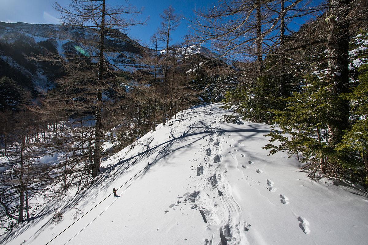 【硫黄岳 本沢温泉】登山百景-さらに登る