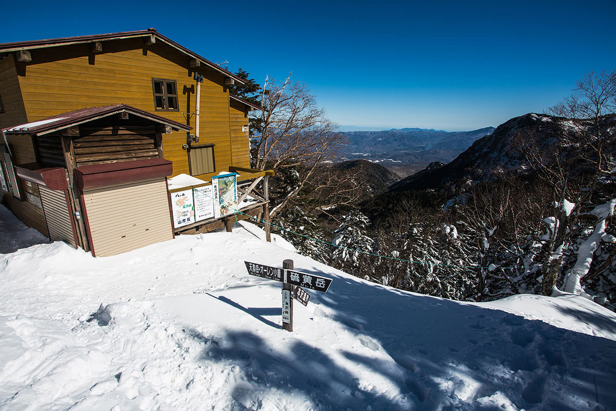 【硫黄岳 本沢温泉】登山百景-東側の景色