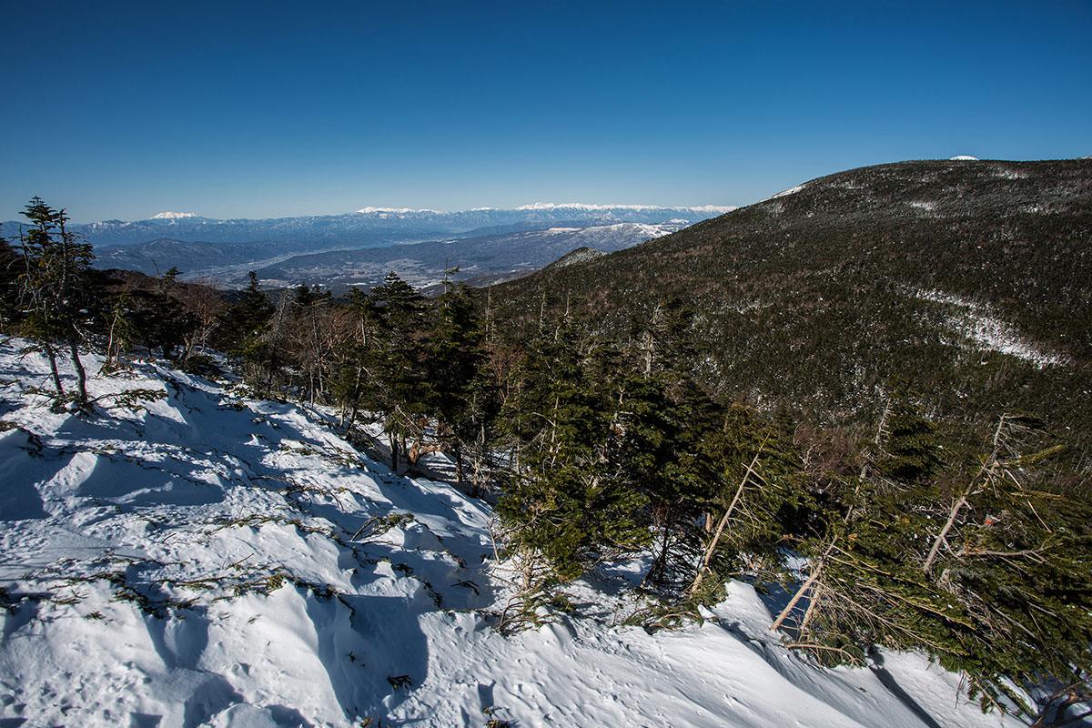 【硫黄岳 本沢温泉】登山百景-北アルプスもよく見える