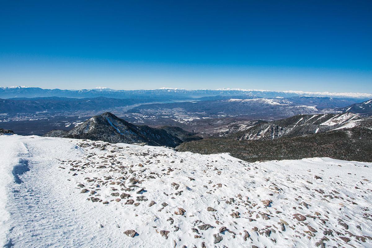 【硫黄岳 本沢温泉】登山百景-アルプスが全部見えるよう