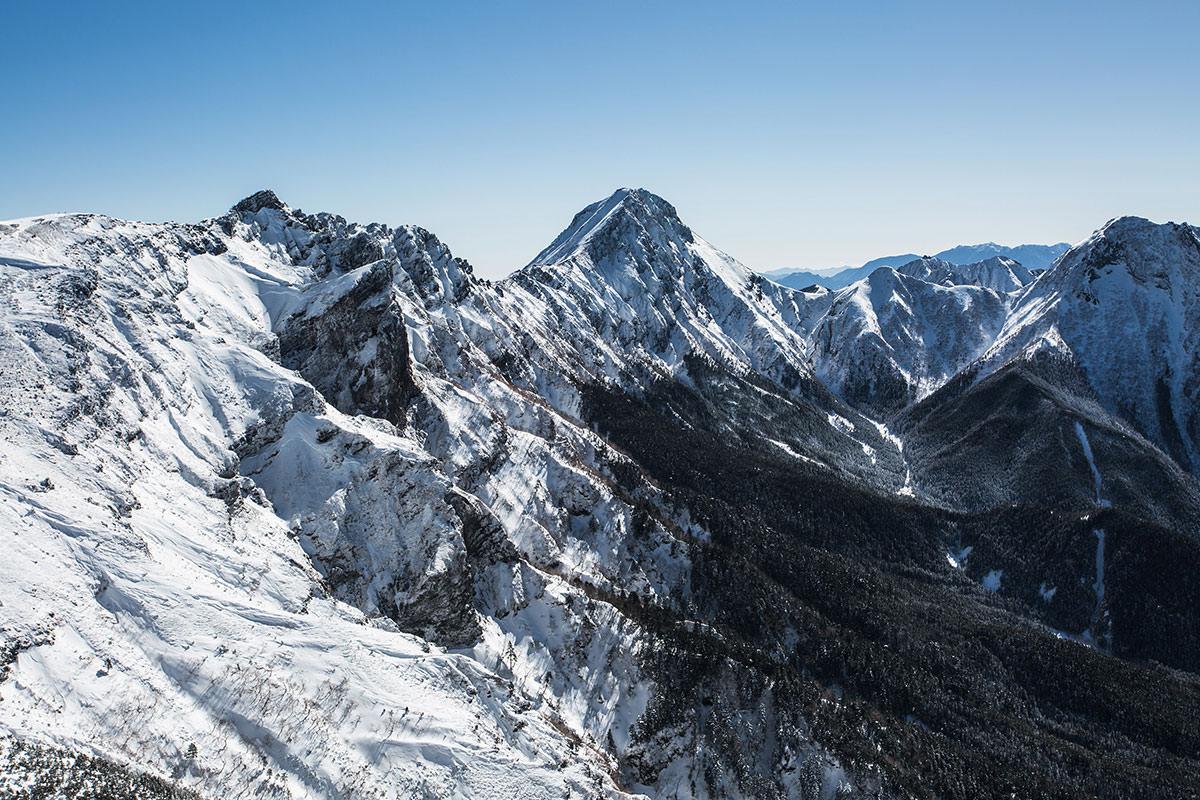 【硫黄岳 本沢温泉】登山百景-赤岳の存在感がすごい