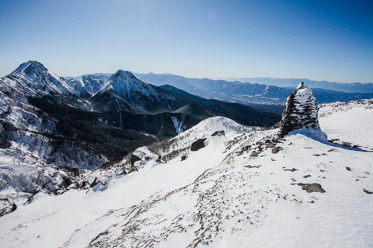 【硫黄岳 本沢温泉】登山百景-南アルプス方面