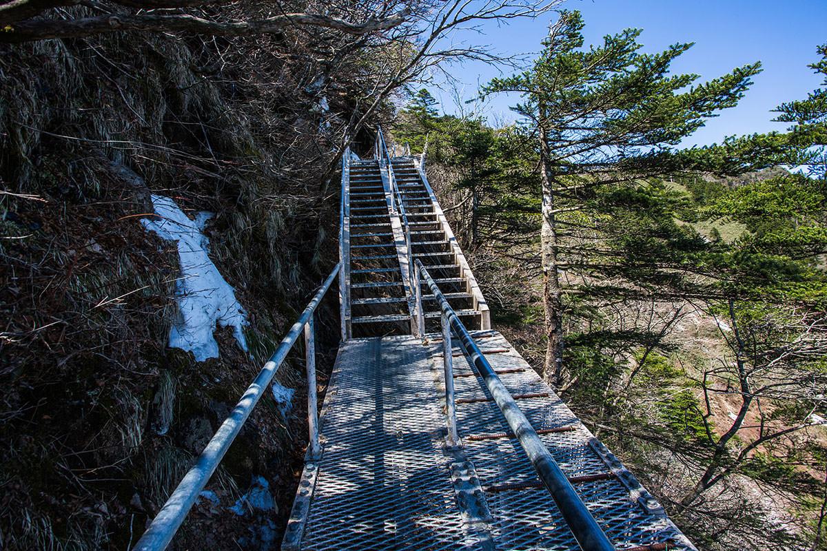 階段が鉄になった