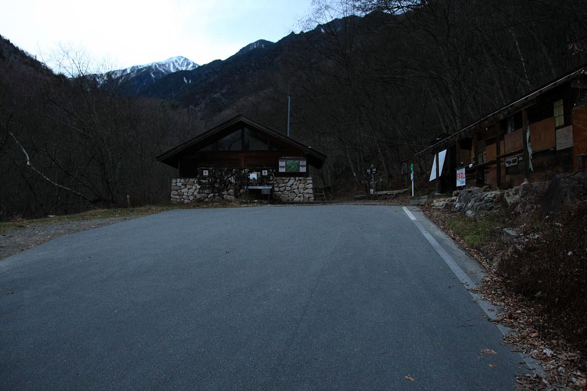 【常念岳】登山百景-登山口は駐車禁止