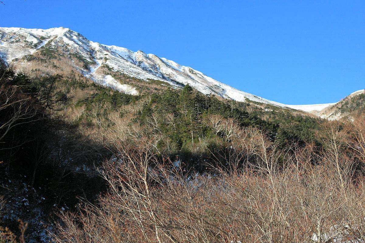 【常念岳】登山百景-左側に常念