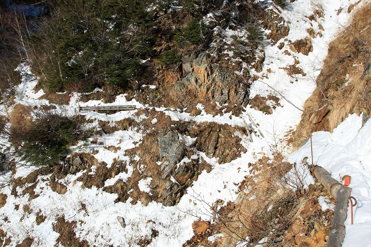 【常念岳】登山百景-高くて狭い