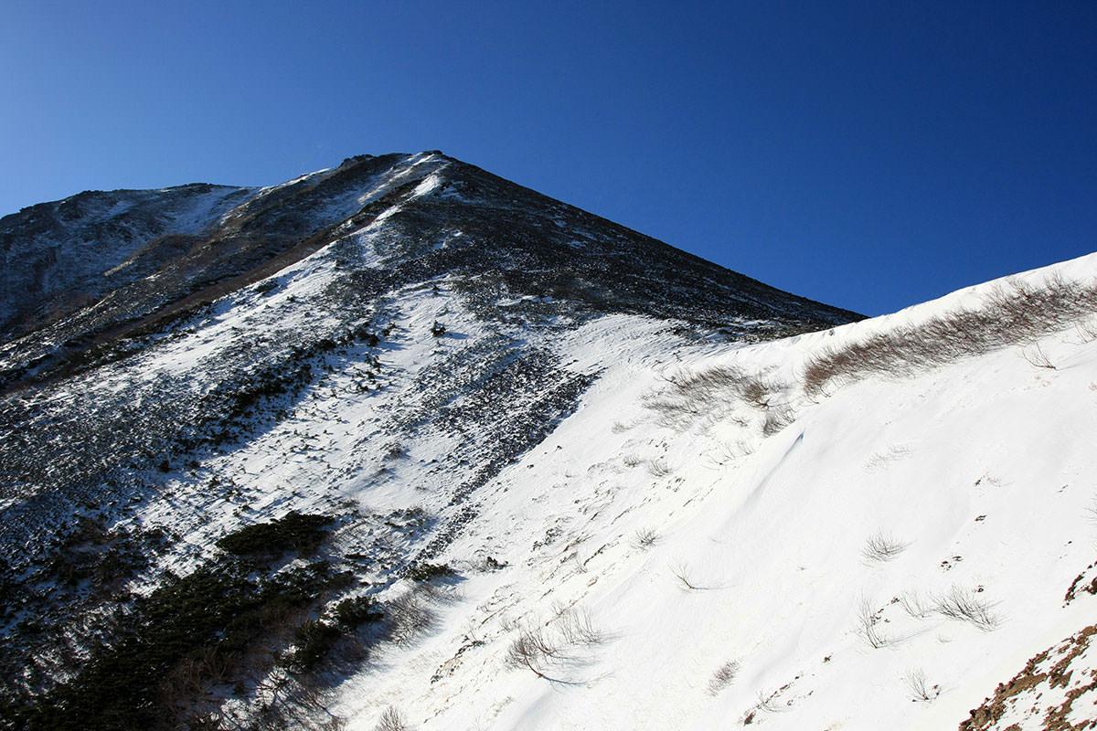 【常念岳】登山百景-常念が近くなった