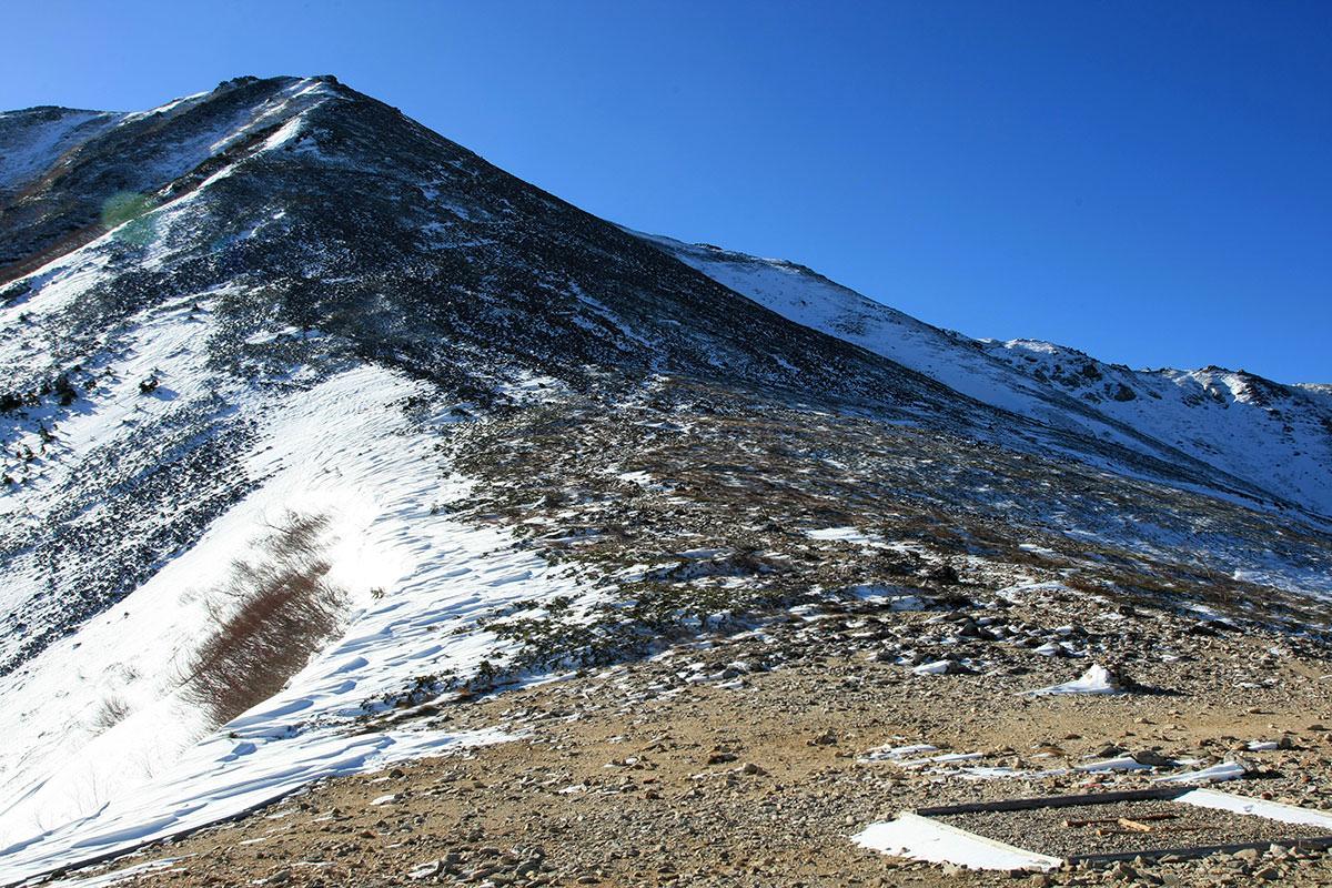 【常念岳】登山百景-ここから急登ガレ場