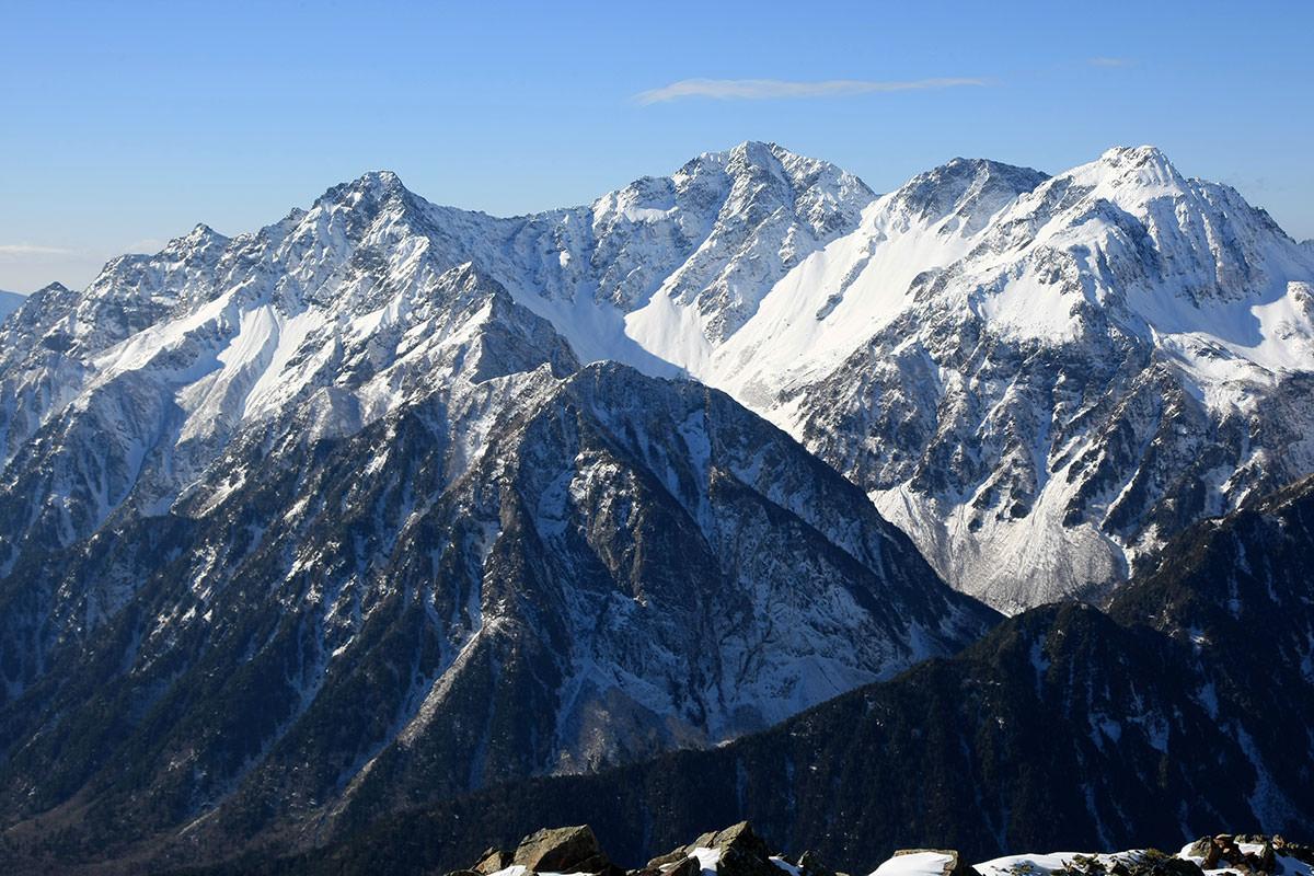 【常念岳】登山百景-穂高岳