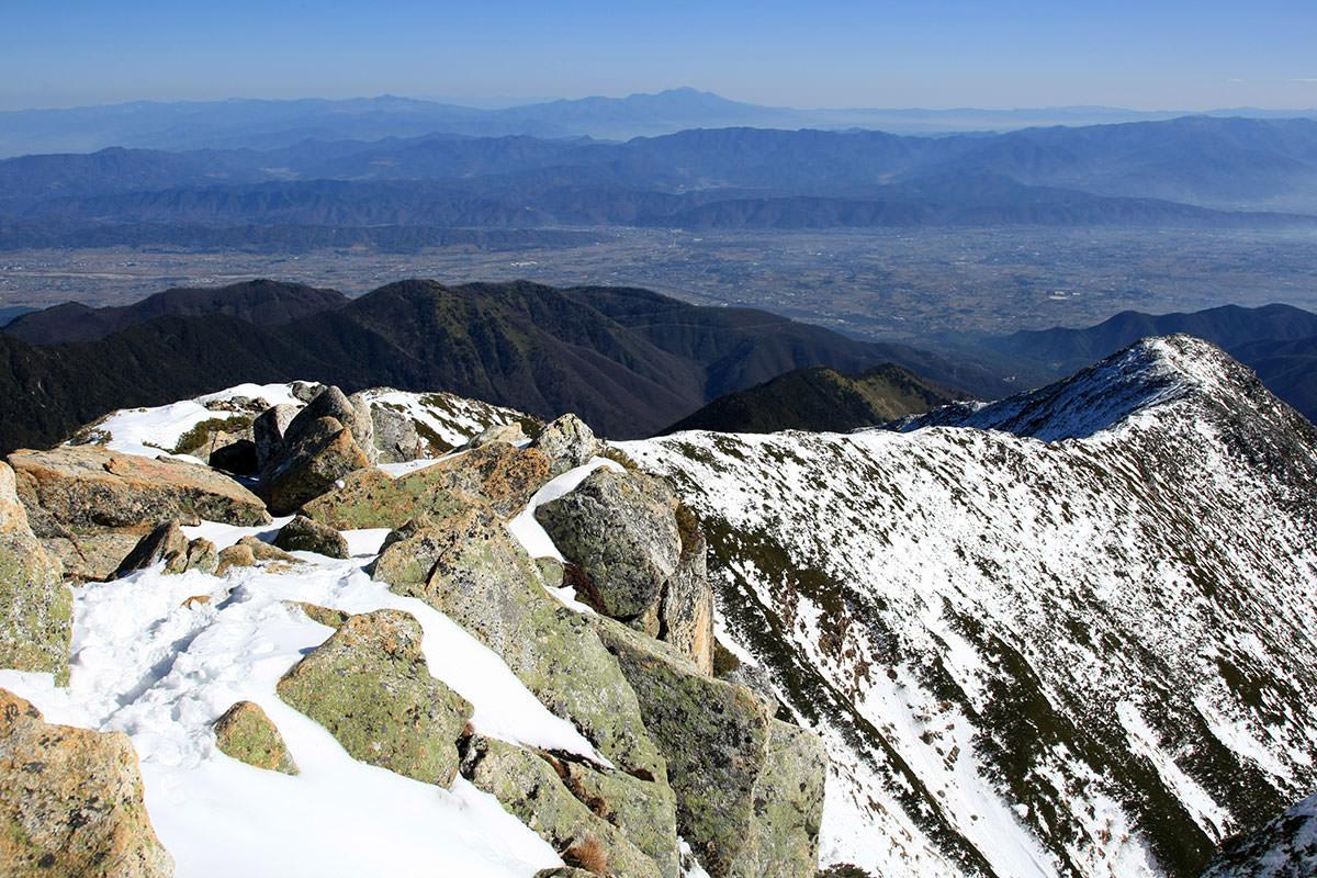 安曇野と浅間山