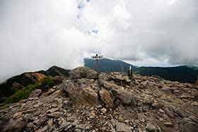 東篭ノ塔山に到着