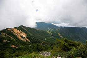 高峰高原からけっこう歩いた