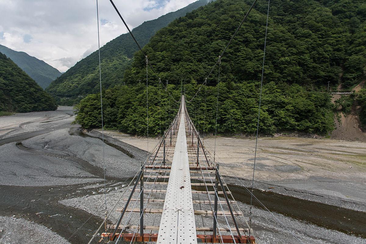 【上河内岳】登山百景-高い
